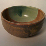 Wheel thrown bowl for fundraiser