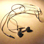 That which I carry: Earphones