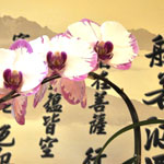 Calligraphy and Orchid
