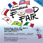 Collaborated Food Fair 2011 Poster