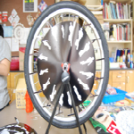 Bicycle Wheel Animation in Action