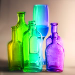 Colored Bottle Gradient