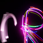 Light Trails - Letter R