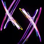 Light Trails - Letter X
