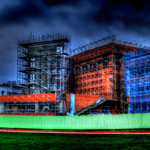 HDR Panorama - New Building