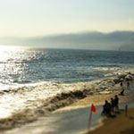 Tilt/ Shift World - Beach