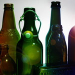 Bottle Photography - ColorShift Gradiant