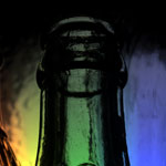 Bottle Photography - Color Lighting Effects