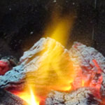 Flames (Slow Shutter Speed)