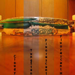 Long Board in Indoor Light