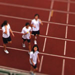 Tilt/ Shift World - Track+Field