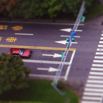 Tilt-shift - Dun Hua South Road