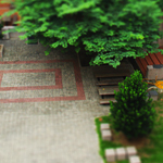 Tilt Shift In School