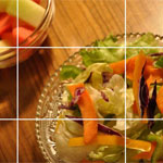 Food Composition: Application of Rule of Thirds