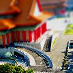 Tilt Shift: Chiang Kai Shek Memorial Hall