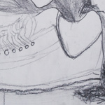#2 Shoes Drawing