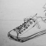 Shoe Drawing 0.5