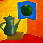 Still Life Painting: A Warm Afternoon Tea