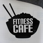 Fitness Cafe Sticker