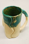 Wrapped cup back view