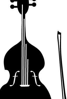 Double Bass (Band) Mural