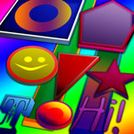 Cheerful 3D Shapes
