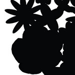 Flowers Silhouette Vinyl Film (the working file)