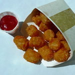 Food: Tator Tots + Ketchup