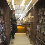 Reader by the Shelves (Library Story)
