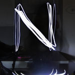 Light Trails - Letter