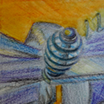 Egg Beater [Coloured Pencils]