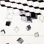 Sugar Cubes drawing