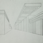 One Point Perspective Drawing