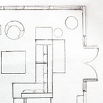 Living Room Floor Plan Sketch