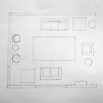 Drafted Floor Plan 1/50