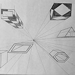One-Point Perspective Drawing 1