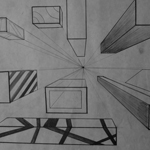 One-Point Perspective Drawing