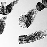 Sugar Cubes in Pen & Ink