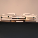 Architecture Model- Back Elevation
