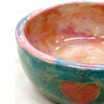 Heart Pinch Bowl
