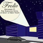 Poster design and graphic for Frolic