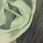 Observational Drawing - Ear