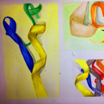 Final Watercolor Ribbons