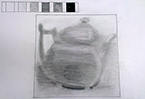 Shaded Teapot