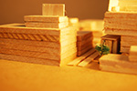 Architectural Model (Close up 1)