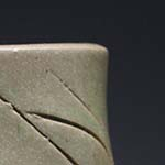 Sgraffito Slab Cup