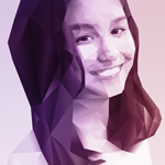 Polygon Portrait (Color Effect)