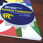 Awards Ceremony Cover Design