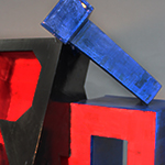 Alphabet Sculpture - Angle 2