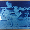 Cyanotype Iron Man